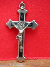 Très jolie ancienne croix ou crucifix de col ou de chapelet