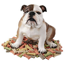 English Bulldog Statue Home Garden Decor Sculpture