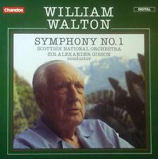 CD WILLIAM WALTON - sinfonia n. 1, Scottish National Orchestra / Gibson