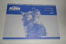 400/640 LC4-E 640 Supermoto 640 DukeSpare Parts Manual Art.Nr. 3.208.25 10/2000
