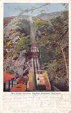 Postcard CA Mt Lowe Pacific Electric Railway California Fruit Advertisement 1909