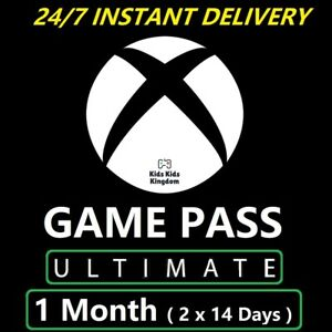 Xbox Live 1 Month Game Pass Ultimate & Gold Code (2x 14 DayS) - FAST DELIVERY