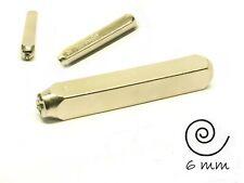 Spirale (Swirl) Design-Stempel Schlagstempel, Impressart Schriftgröße: 6 mm