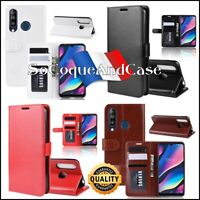Etui folio housse coque Cuir PU Leather Stand Wallet Case Cover Wiko View 3