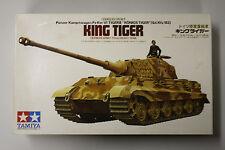 Tamiya Panzer Kampwagen PZKW VI Tiger II King Tiger MOTORIZED 1/35