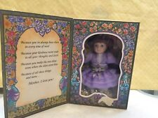 """Vtg 1993 Marie Osmond Mothers Day Greeting Card 5"""" Doll by Knickerbocker"""