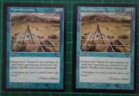 2X MTG MAGIC THE GATHERING MANA SEVERANCE TEMPEST BLUE SORCERY RARE ENGLISH NM
