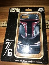 Disney Parks D-Tech Star Wars Cell Phone Case For Iphone 7/ 6/ 6S Boba Fett