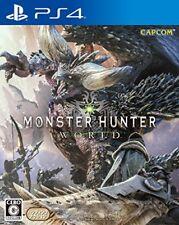 Used PS4 Monster Hunter: World Normal Version PlayStation 4 Japan