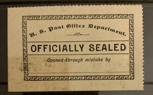 F9/14 US Stamp Official Seal 1889 LOX11 MLHOG A Rare With Original Gum