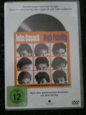 High Fidelity DVD ( John Cusack , Jack Black )