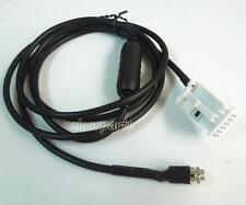 Car AUX audio Cable Female 12-Pin Adapter For BMW E90 E92 E81 E88 iPod iPhone