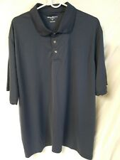 Tommy Armour Mens Shirt Blue XXL 2XL Dri Logic Polo Golf  Short Sleeve