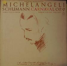 Schumann - Carnaval Op. 9 - Arturo Benedetti Michelangeli (LP)