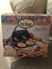 Breville Pie Magic Pie Maker Original Box Accessories Used And Clean