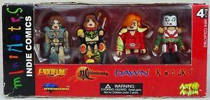 Minimates Indie Comics, 4 Pack Witchblade Magdalena Dawn Kabuki, Art Asylum 2004