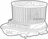 Denso Cabine Ventilateur / Moteur Pour Citroen Jumpy Boite 2.0 80KW