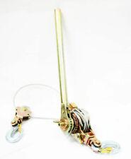 4400Lb 2 Ton Hoist Ratchet Hand Lever Puller Come Along Double Hooks Cable Hd