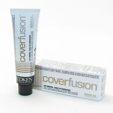 REDKEN COVER FUSION EXTRA Coverage PERMANENT Hair COLOR ~ 5+=FREE PRIORITY SHIP!