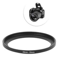 49mm To 55mm 49mm-55mm 49 To 55 Metal Step Up Ring Len Stepping Adapter Filter