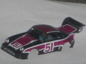 VINTAGE AURORA AFX PORSCHE 934 TURBO  BODY N/O/S HO SLOT CAR