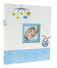 Large Self Adhesive Photo Album 20Sheets / 40Sides Baby Boy Keepsake Christening