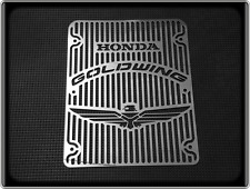HONDA GL1200 GOLDWING INTERSTATE Style Polished Radiator Grill - GL 1200