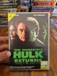 The Incredible Hulk Returns DVD