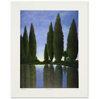 """Steven Lavaggi - """"Twilight Garden"""" Limited Edition Lithograph, Hand Signed"""