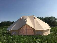 6M Emperor Twin One Door Bell Tent Luxury Glamping Family Beach Party Yurt Tent