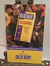 Cooking with Old Bay Seasoning Cookbook Food Service Large Quantity Restaurant