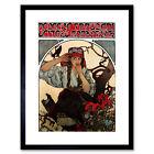 Alphonse Mucha Moravian Teachers0 Choir 1911 Old Master Framed Wall Art Print