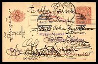 SWEDEN STOCKHOLM AKTIEBOLAGET AUGUST 5 1919 STATIONERY AD CARD TO HELSINGFORS FI