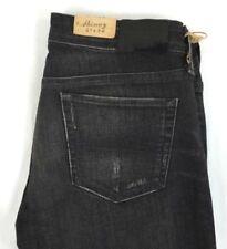 NWT DENIM & SUPPLY RALPH LAUREN Women's Black Destructed Skinny Jeans 27 x 32