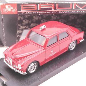 Brumm 1:43 Alfa Romeo 1900 rot Service Prevenzione - rar ! in OVP EA2002