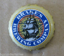 DRAKES BREWING COMPANY SAN LEANDRO CA NO DENTS USED BEER BOTTLE CAP