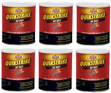 (6) ea Starbar 100508298 5 lb Quikstrike Fly Attractant / Killer Scatter Bait