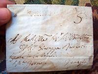 1807 PREFILATELICA DA ROTTA SABADINA (PADOVA) A VENEZIA. ANNULLO 'MONSELICE'