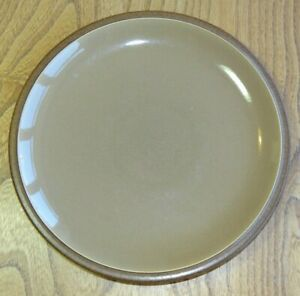 Denby CINNAMON Plate Luncheon or Breakfast Accent - Set of Two Plates
