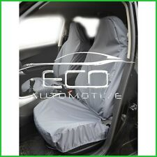 Peugeot Bipper 11+on van Grey Hd Rubber Coated waterproof Seat Covers pair