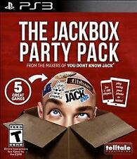 BRAND NEW Jackbox Party Pack -- Sony PlayStation 3 PS3 ***Guaranteed***