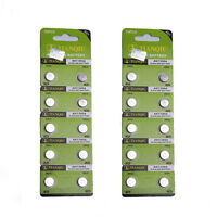 New 20pcs LR57 AG7 395 LR927 SR57 1.55V TIANTAN COIN Alkaline Single Use BATTERY