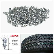 100x 15mm Ice Road Car Truck Tire Anti-Slip Stud Spikes Winter Tire Accessories