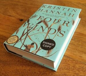 Kristin Hannah - 'The Four Winds'. *SIGNED* 1st/1st *Author of FireFly Lane*