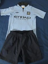 Manchester City football kit size MB for children
