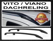 Mercedes Vito / Viano Lange Radstand W639 W447  Aluminium Dachreling Schwarz