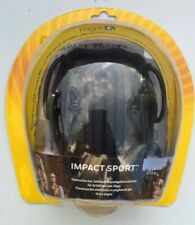 Howard Leight 1013530 Impact Sport Electronic Folding Earmuff, Green