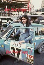 Michele MOUTON AUTOBIANCHI A112 ABARTH Monte Carlo Rally 1977 fotografia 1