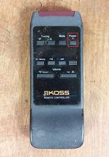 Genuine OEM KOSS Hi-Fi Audio System Remote Controller Commander HH375