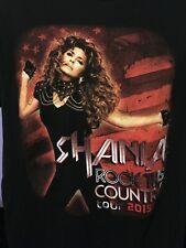 Shania Twain Concert T-Shirt Size M